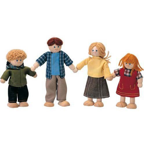 Plan Toys Caucasion Doll Family
