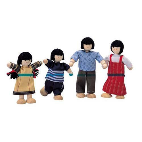 Plan Toys Asian Doll Family