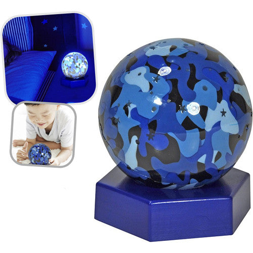 Cloud B Sky Globes Blue Camo