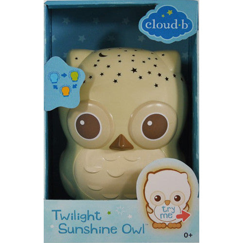 Cloud B Twilight Sunshine Owl Natural