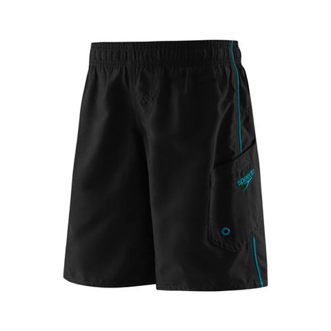 Speedo Marina Volley Swim Shorts Blue/Black LG