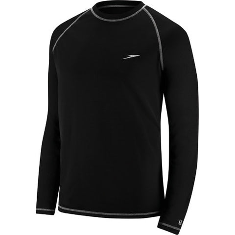 Speedo Easy L/S Swim T LG Black