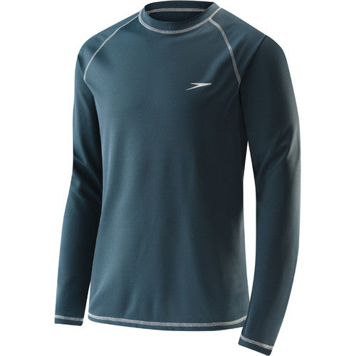 Speedo Easy L/S Swim T LG Granite