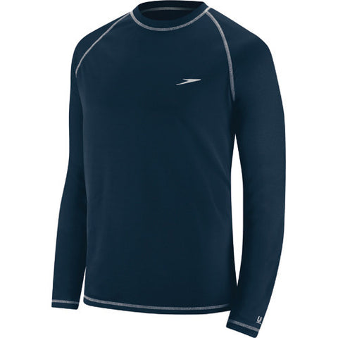 Speedo Easy L/S Swim T LG Navy