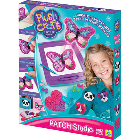 Orb Factory Plush Craft Patch Studio