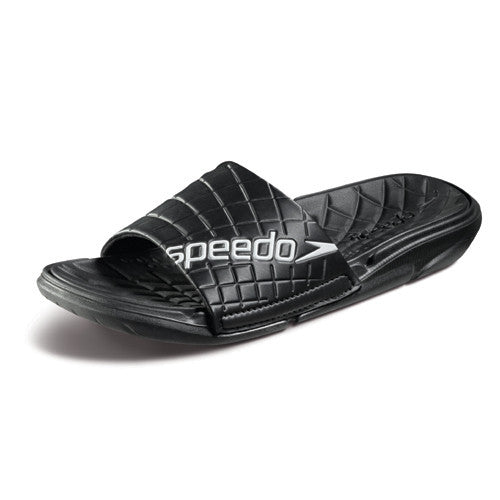 Speedo Exsqueeze Me Slide Black/White 10