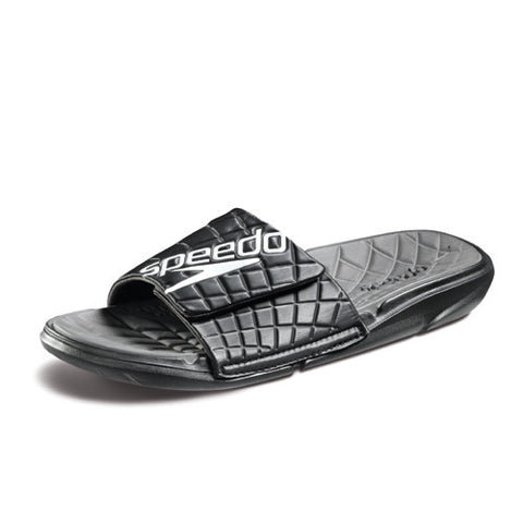 Speedo ExSqueeze Me Slide Black/Gray 12