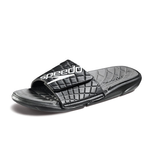 Speedo ExSqueeze Me Slide Black/Gray 11