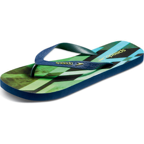Speedo Men's LocoZorillas Sandal Blue/Green 14