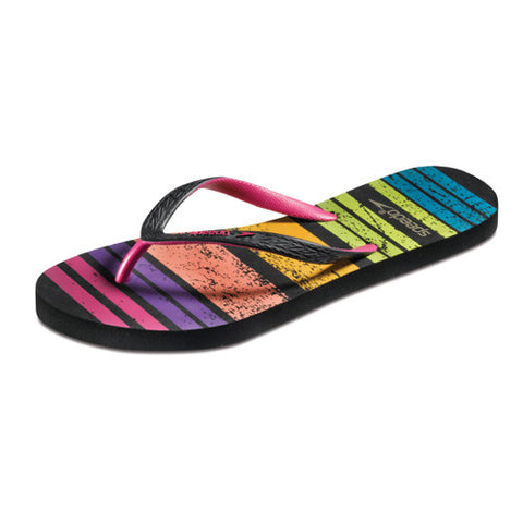Speedo Loco Zorillas Zori Black Rainbow 09