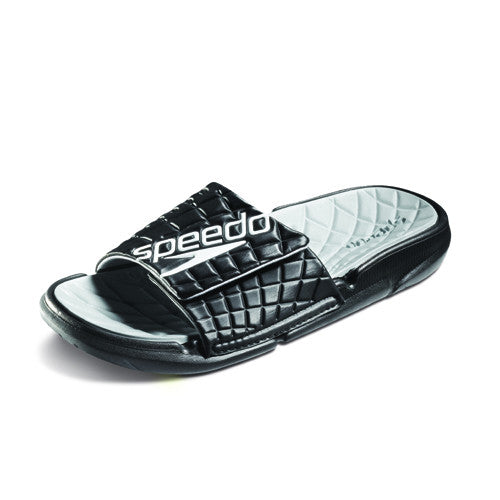 Speedo ExSqueeze Me Rip Slide Black/High Rise 11