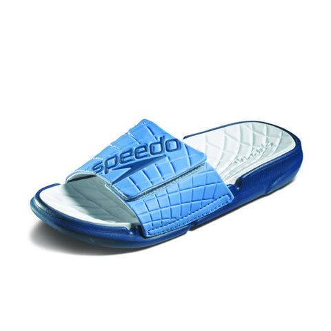 Speedo ExSqueeze Me Rip Slide Blue/White 10
