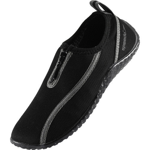 Speedo Kids Zipwalker Water Shoe Black 2
