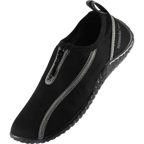 Speedo Kids Zipwalker Water Shoe Black 1
