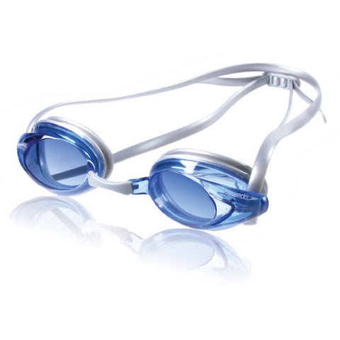 Speedo Jr Vanquisher Swim Goggle Gray/Blue