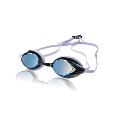 Speedo Women's Vanquisher Mirrored Clear