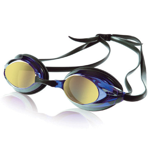 Speedo Vanquisher Mirrored Blk/Gold