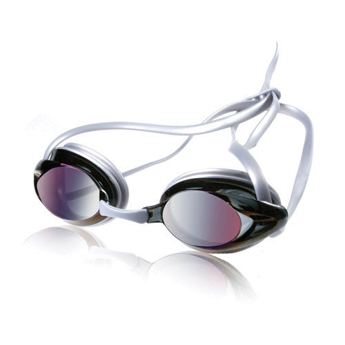 Speedo Jr Vanquisher Mirrored Silver