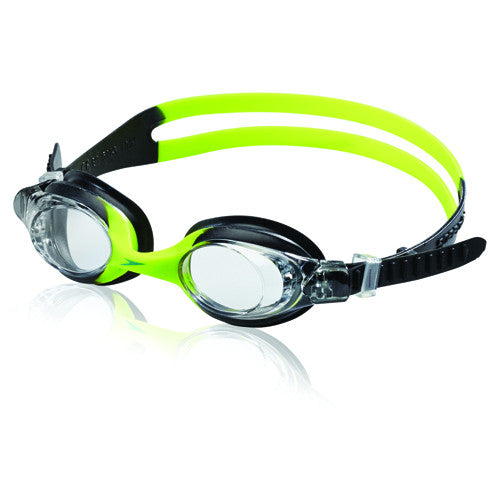 Speedo Skoogles Goggles Clear/Black Lime