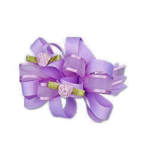 Jeannies Flower/Ribbon Hair Bows