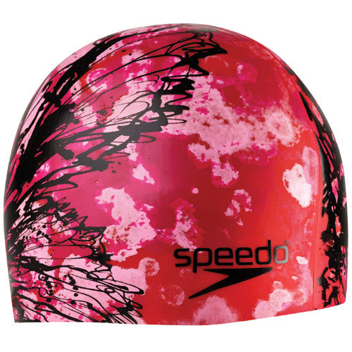 Speedo Butterfly Ink Cap Red