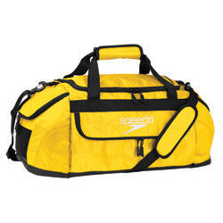 Speedo Medium Pro Duffel Bag Lemon Glow