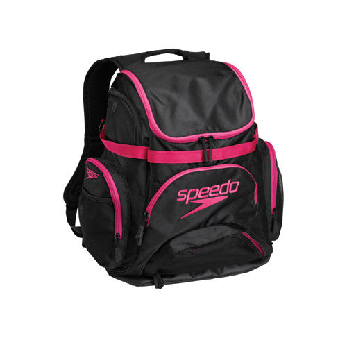 Speedo Pro Backpack Black/Hot Pink