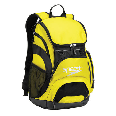 Speedo Teamster Backpack Large Yellow