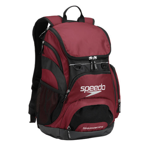 Speedo Teamster Backpack Small Maroon
