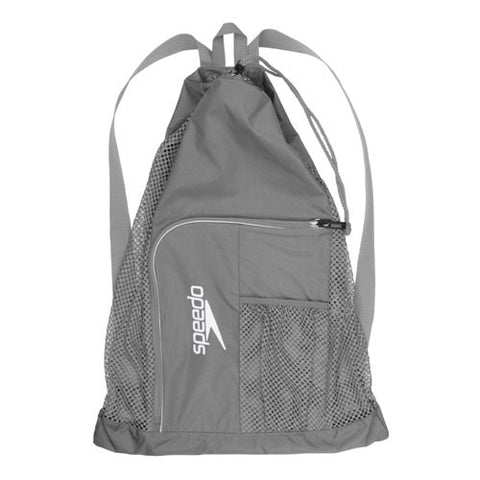 Speedo Dlxe Ventilator Mesh Bag Frost Gray