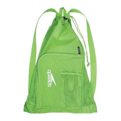 Speedo Dlxe Ventilator Mesh Bag Jasmine Green