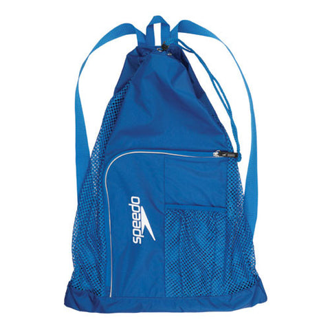 Speedo Dlxe Ventilator Mesh Bag Royal Blue