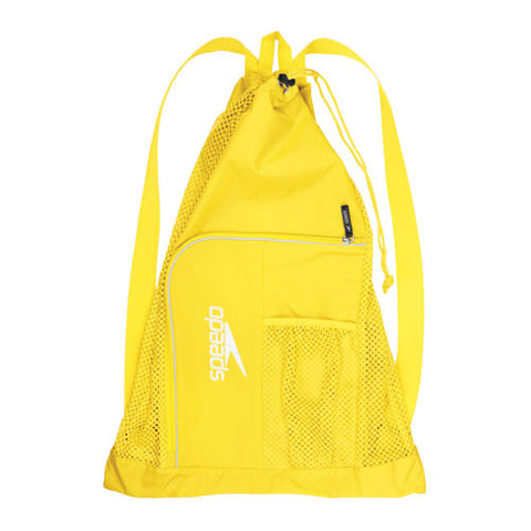 Speedo Dlxe Ventilator Mesh Bag Blaze Yellow