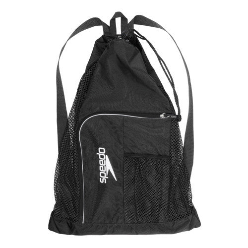 Speedo Dlxe Ventilator Mesh Bag Black