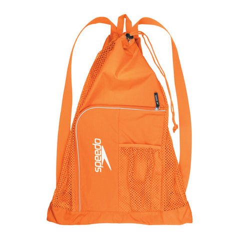 Speedo Dlxe Ventilator Mesh Bag Orange