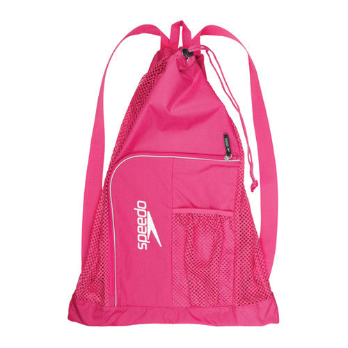 Speedo Dlxe Ventilator Mesh Bag B Pink