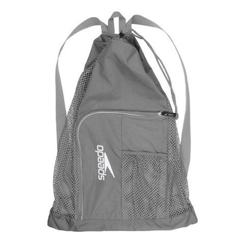 Speedo Dlxe Ventilator Mesh Bag B Gray