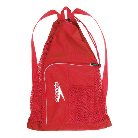 Speedo Dlxe Ventilator Mesh Bag B Red