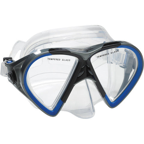 Speedo Hyperfluid Mask Blue