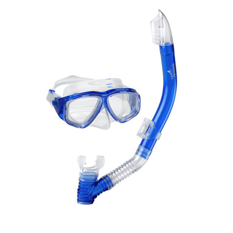 Speedo Jr. Adventure Mask/Snorkel Set Blue