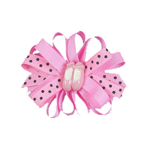Jeannies Ballet Clip Hair Bows