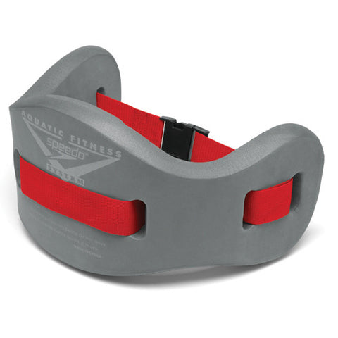 Speedo Aqua Fitness Jogbelt Charcoal/Red LG