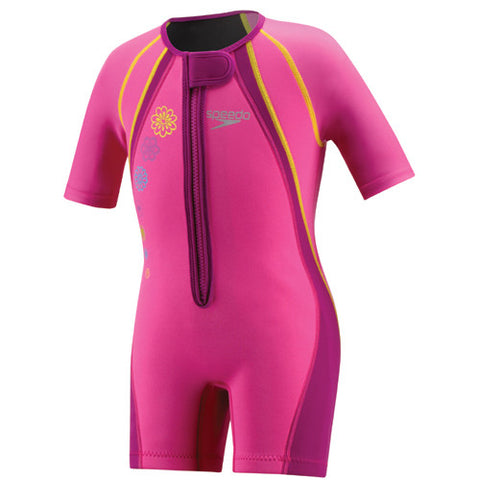 Speedo UV Thermal Suit Pink Size 08