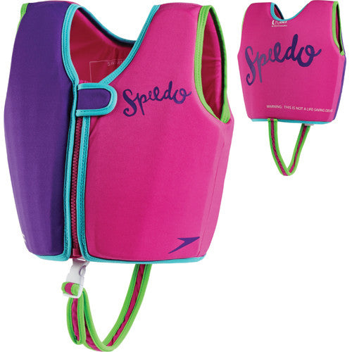 Speedo Classic Swim Vest Purple/Pink MD