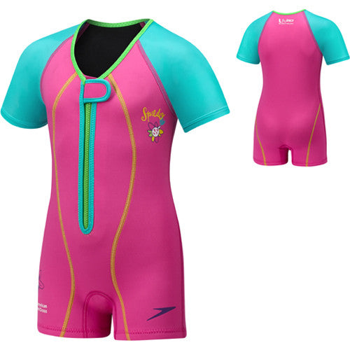 Speedo UV Thermal Suit Pink 4T