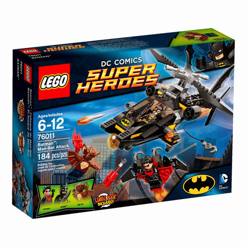 Lego SHeroes Batman Man-Bat Attack