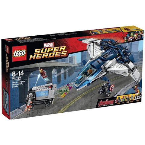 Lego SH The Avengers Quinjet City Chase