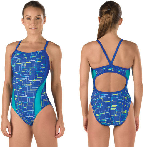 Speedo Lycra Color Circuit Flybk Deep 32