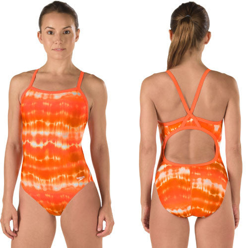 Speedo Lycra Water Supply Orange 36