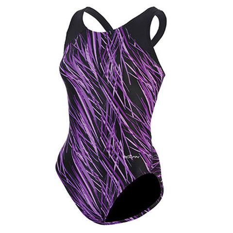 Dolfin Lycra Stomy Stormy Purple 34